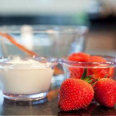 Strawberry Yogurt Facial Mask