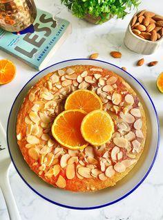 Eggless Orange Cake, Eggless Carrot Cake, Orange And Almond Cake, Eggless Desserts, Eggless Recipes, Eggless Baking, Healthy Cake Recipes, Almond Recipes, Baking Recipes