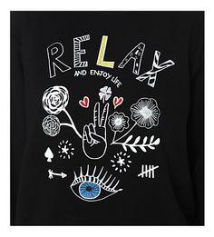산드로 - 진정한 사랑 코튼 저지 셔츠 | Selfridges.com