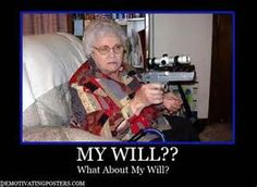 Demotivational Posters, Funny Posters, Posters, Will , Old Woman