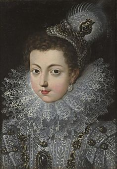 Queen Isabel de Bourbon (1602 - 1646), first wife of Felipe IV