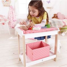 Hape Toys Doll Changing Table