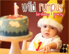 Wild Things... this will be my shower theme and my future boys first birthday part :)