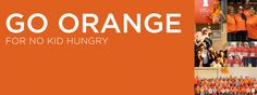 #goorange for #nokidhungry! Facebook Cover Photo Cool Facebook Covers, Facebook Likes, Cover Photos, Children, Kids, The Good Place, America, Youtube, Stuff To Buy