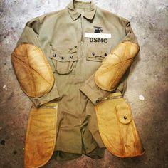 USMC Paramarine Jump Smock HBT