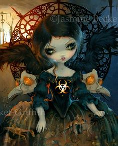 Jasmine Becket-Griffith is a world-renowned fantasy artist