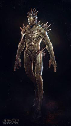 Alien MKS V2 by Salim Ljabli | Creatures | 3D | CGSociety