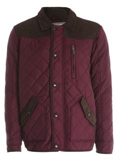 Absolutely one of Burton's favourite pieces for AW12 - the quilted jacket. Wear in burgundy, navy or khaki for a truly English look.