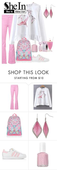 """""""Untitled #5682"""" by princhelle-mack ❤ liked on Polyvore featuring Givenchy, Accessorize, Mixit, adidas and Essie"""
