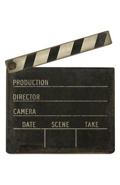 Spicher and Company 'Film Clapboard' Vintage Look Wall Art available at #Nordstrom