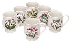 Portmeirion 749151134423 Botanical Garden Bristol Mug, Multicolor Botanical Decor, Botanical Gardens, Portmeirion Pottery, Cuppa Tea, Mugs Set, Coffee Time, Bristol, Kitchen Dining, Sweet Home