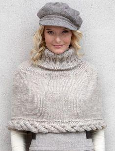 free pattern - #5 yarn (bulky) (500g) - Size 6.5 mm (U.S. 10½) knitting needles. Size 6.5 mm (U.S. 10½) circular knitting needles 24 ins [60 cm] and 36 ins [90 cm] long