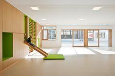 feld72: kindergarten in Terenten, South Tyrol