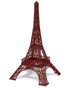 Big ben free 3d printable model educational paper craft for Eiffel tower model template