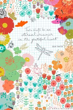 Surtex is right around the corner (May 21-23) and I am thrilled to kick off our series of Surtex features with one of my favorite designers, Emma McGowan. Em