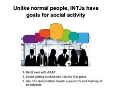 Idea borrowed from the article: The Complicated Nature of INTJs Explained to Normal People  by Rebecca Matheson
