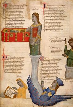 Address in verse to Robert of Anjou, King of Naples - by Convenevole da Prato, c. 1335-c. 1340