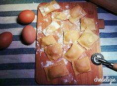ravioli zucca e gorgonzola giallo zafferano