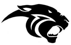 Free Panther Clip Art of Black panther logo clipart image for your personal projects, presentations or web designs. Black Panther Tattoo, Panther Logo, Black Panther Art, Tribal Tattoos, Panther Images, Lion Tattoo, Stencil Designs, Tribal Art, Metal Art