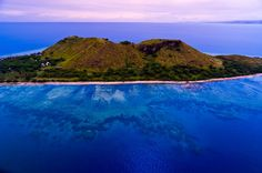 Aerial view, Vomo Island, Fiji Islands