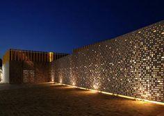 fibre reinforced concrete acoustic panel DUCTAL® Lafarge concrete