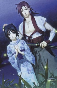 Yukimura Chizuru et Harada Sanosuke - Hakuouki
