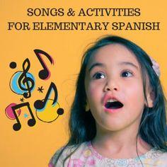 Using Traditional Songs in an Elementary Spanish class - FunForSpanishTeachers Learn Spanish Free, How To Speak Spanish, Spanish Music, Spanish Language, Spanish Teaching Resources, Teaching Tips, Spanish Activities, Spanish Jokes, Spanish Lessons