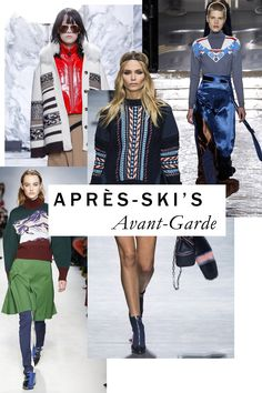 The Biggest Runway Trends of Fall 2016 - Just the ticket to team with that off-shoulder Balenciaga puffer? The reimagined après-ski sweaters by talents from Joseph Altuzarra to Chloé's Clare Waight Keller.