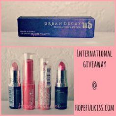 Hopeful Kiss | A Pink Lipstick Life!: Free Lipstick! | International Giveaway ♥