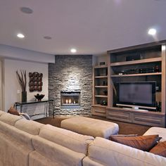 Corner Fireplace | 1,230 Corner Fireplace Calgary Home Design Photos