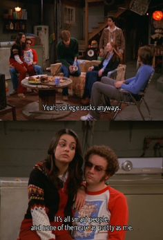 Jackie and Hyde That 70s Show Quotes, Tv Show Quotes, Movie Quotes, Series Movies, Movies And Tv Shows, Tv Series, Gilmore Girls, Jackie That 70s Show, Hyde That 70s Show