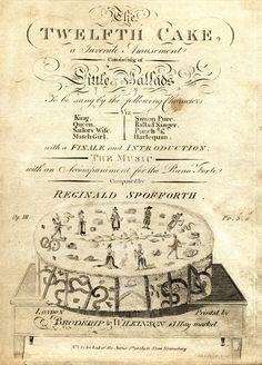 The Twelfth Cake - Twelfth Night.