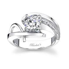 Unique Engagement Ring 7619LW