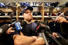 Phil Kessel of the Leafs meets reporters after Monday's morning skate at the Air Canada Centre. Phil Kessel, Air Canada Centre, Nhl Season, Hockey Baby, Pittsburgh Penguins, All About Eyes, American, Skate
