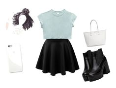 """""""Untitled #19"""" by fashiongeek21-1 ❤ liked on Polyvore featuring Wet Seal and Apple"""
