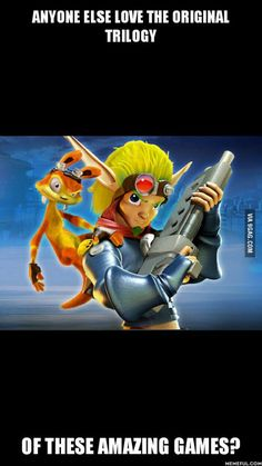 I never hear anyone talk about this game. I loved Jak and Daxter!