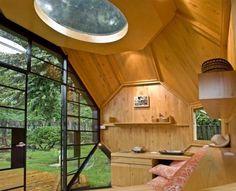 Modern Child Garden Playhouse Design Idea