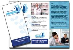 Adapting your logo in your medical brochure is essential.