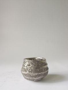 LAVA Platinum Sake cup - RYOTA AOKI POTTERY ONLINE STORE