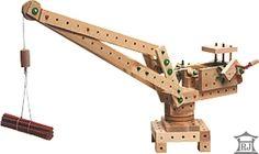 Детские деревянные конструкторы и трансформеры RYBLAND LA MASHINE