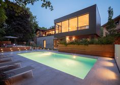 Prince Philip Residence is an original renovation and expansion project for a mid-century residence in Montreal, Canada.