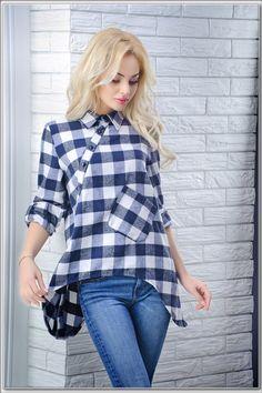 """Стильная рубашка оригинального кроя: продажа, цена в Одессе. блузки и туники женские от """"Интернет-магазин стильной одежды """"x04y"""""""" - 472550769"""
