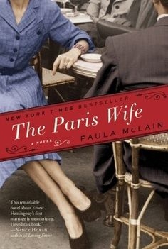 """Terribly beautiful... """"The Paris Wife"""" by Paula McLain.     """"A deeply evocative story of ambition and betrayal, The Paris Wife captures a remarkable period of time and a love affair between two unforgettable people: Ernest Hemingway and his first wife Hadley.""""    Interesting side note Hadley was born in St. Louis, Mo. as was his third wife Martha Gellhorn. I guess there's just something about us St. Louis females!"""
