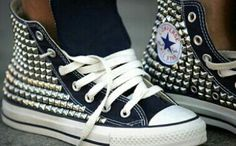 studded Converse <3