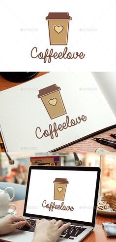 Coffee Love  - Logo Design Template Vector #logotype Download it here: http://graphicriver.net/item/coffee-love-logo-template/8980163?s_rank=941?ref=nexion