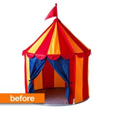 Before & After: IKEA Circus Tent — Little Free Radical