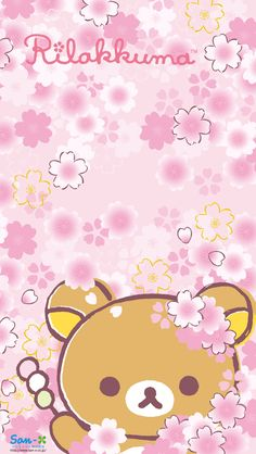 Rilakkuma Sakura from the San-x:  http://www.san-x.jp/