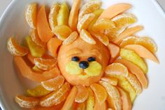 Healthy snack to go with the Big Cats Party of Tales Come Alive children's parties, Inc. It is all in our party booklets.