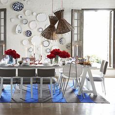 Como Sawhorse Dining Table | Crate and Barrel