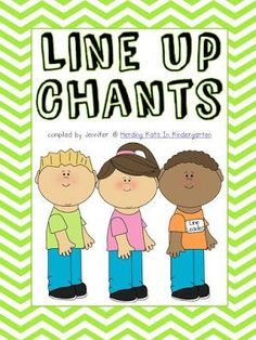 Freebie - Classroom Management - Transition Songs for Lining Up